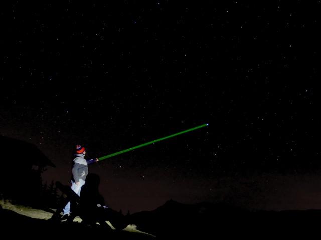 Nuit en bulle - Observation des étoiles