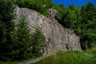 Rocher escalade Beaufort
